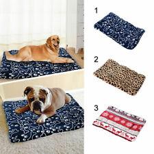 Pet Dog Puppy Cat Soft Bed Mat Pillow Blanket Cushion Mattress Cotton Super Warm