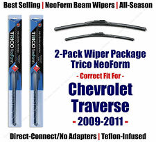 2pk Super-Premium NeoForm Wipers fit 2009-2011 Chevrolet Traverse - 162515/2115