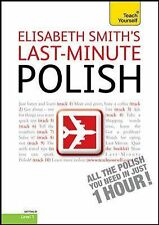 Last-Minute Polish with Audio CD: A Teach Yourself Guide (TY: Language Guides),