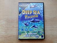 DEEP SEA TYCOON & MOON TYCOON PC CD-ROM GAMES WINDOWS 98 ME XP 2000