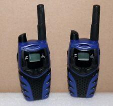 Magnum E8270 PMR Walkie Talkie Hand Sprech funk gerät 8 Kanäle bis 5Km Schw-Blau