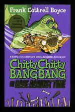 Frank Cottrell Boyce-Chitty Chitty Bang Bang Rennen wieder; Double signiert 1st