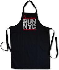Run NYC GRILL Grembiule Koch Grembiule New York City Run Fun Dmc maratona Hip Hop