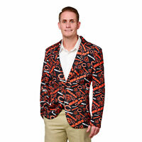 Chicago Bears NFL FoCo Men's Repeat Logo Ugly Business Jacket Size 42-SMALL