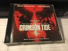 CRIMSON TIDE 1995 Soundtrack Score JAPAN IMPORT CD Hans Zimmer