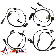 Set of 4 Front Rear Left & Right ABS Wheel Speed Sensors For Lancer Outlander
