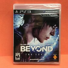 Beyond Two Souls (PlayStation 3 PS3/2013) Ellen Page/Willem Dafoe ~NEW/SEALED~