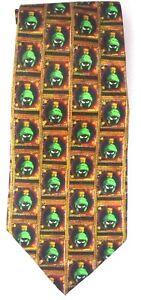 Marvin Martian Tie - Polyester - Men's Neck Tie