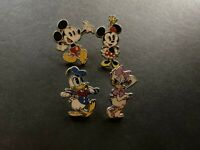 Mickey Shorts Booster Set Minnie Donald Daisy 4 Disney Pins 103782