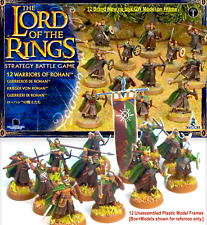 12 WARRIORS of ROHAN=GW LotR~HOBBIT~MIDDLE-EARTH STRATEGY BATTLES=Games Workshop