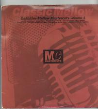 DEFINITIVE MELLOW MASTERCUTS VOLUME 1.various artists. MASTER CUTS UK 2x L.P