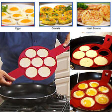 Non Stick Pancake Pan Frying Egg Silicone Mould Omelette Breakfast Maker Tools