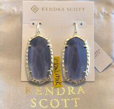 5911c3aea6a4e Kendra Scott Drop/Dangle Purple Fashion Earrings for sale | eBay