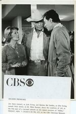 JIM DAVIS BARBARA BEL GEDDES PETER DONAT DALLAS TV SHOW 1980 CBS TV PHOTO