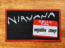 NIRVANA Embroidered Rock Music Band Applique Badge Iron on Patch Sew Jacket