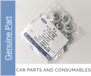 Genuine Ford M5 Exhaust System Heat Shield Fastener Nut Pack of 10