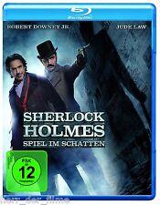 SHERLOCK HOLMES 2: SPIEL IM SCHATTEN (Robert Downey Jr.) Blu-ray Disc NEU+OVP