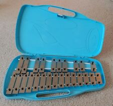 Xylophone (Glockenspiel) 25 Note by Trophy Music Company with Blue Case~mallets