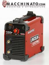 ✔️Saldatrice inverter 140A Lincoln Electric Invertec 150S solo generatore