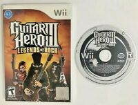 Guitar Hero 3 Legends Of Rock (Nintendo Wii) Video Game FAST SHIPPING! TESTED