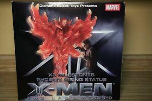 "Rare MARVEL MILESTONES: X-MEN 3 PHOENIX RISING 12"" STATUE Jean Grey Cyclops NEW"