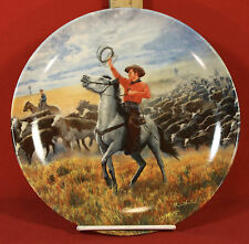 """""""OKLAHOMA"""" 1985 Knowles """"Oklahoma"""" Collector Plate 4th Issue in The Series"""