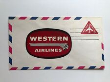 1967 Western Airlines Mailing Envelope