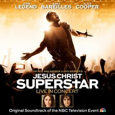 JESUS CHRIST SUPERSTAR: LIVE IN CONCERT - JOHN LEGEND, ALICE COOPER  2 CD NEW!