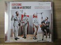Boyzone – Dublin To Detroit   CD Album 2014 Pop / Soul EastWest – 825646194032