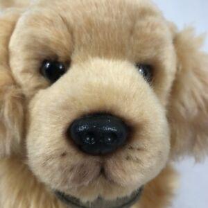 "Russ Yomiko Classics Golden Retriever Plush Dog Stuffed Animal Toy 12"""
