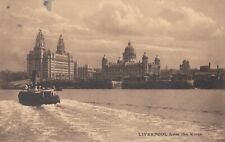 C133 LIVERPOOL  FROM THE RIVER