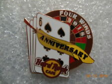 Hard rock cafe Four Winds - 6th Anniversary pin