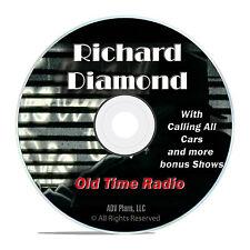 Richard Diamond, Private Detective, 615 Old Time Radio Crime Drama Show, DVD F91