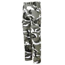 Combat Trousers Castle 901 Urban Camo Black & White Mod Punk Skins Rocker 40 In.