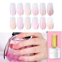 6ml BORN PRETTY Jelly Pink UV Gel Nail Polish Semi-transparent Soak Off Varnish