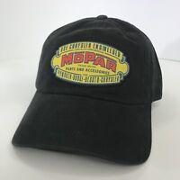 Mopar 1937 Emblem Hat Cap Black (Embroidered Logo Parts Dodge Chrysler Jeep)