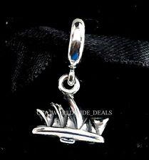 NEW Authentic Pandora Silver Australia Sydney Opera House Dangle Charm 791175