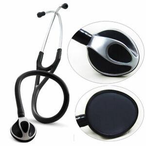 Cardiology STC Style Professional Stethoscope Black - Free Postage