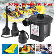 Portable Battery Powered Electric  Pump Inflator with 3 Nozzles Toys