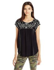 $46 NEW RIP CURL DAYDREAM TOP SHIRT Black M MEDIUM code V243