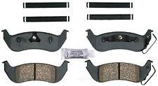 Disc Brake Pad Set-Ceramic Disc Brake Pad Rear ACDelco Pro Brakes 17D1040ACH