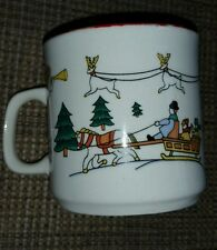 "Classic Collectors Studio Joy of Christmas Dishes 3"" Cup/Mug limited  firing"