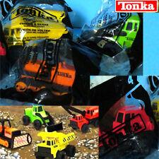 McDonald's Tonka Truck complete 4 toys set NIP sealed 2003 (Metal)