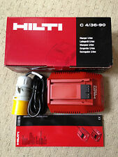 NEW Hilti C 4/36 Site Charger for Lithium Ion Battery. 110 volt
