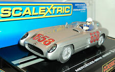 SCALEXTRIC C2814 MERCEDES BENZ 300 SLR COUPE WITH LIGHTS #658 1/32 SLOT CAR