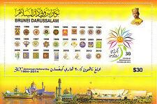 Brunei 2014 MNH National Day 30th Ann 1v Set $30 Generasi Berwawasan Stamps