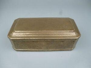 Antique 18th Century Engraved Brass Betel Nut Box - Indo Dutch Islam Indian VR