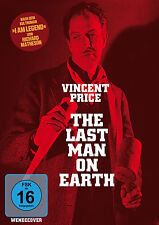 Vincent Price - THE LAST MAN ON EARTH Giacomo Rossi-Stuart DVD nuevo