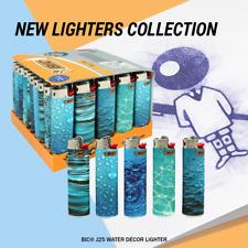 9x BIC Water Decor Collection  Cigarette Cigar Tobacco Lighter