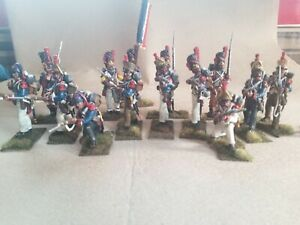 54MM FRENCH NAPOLEONIC 1805-18112- VICTRIX- Painted